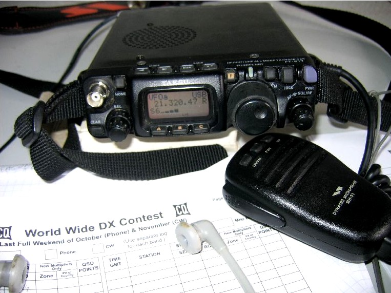 2006 WWDX CONTEST QRP 3 watts (FT817A)